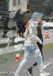 Dislocation-- Öl auf Leinwand, 150 x 105 cm, 2019